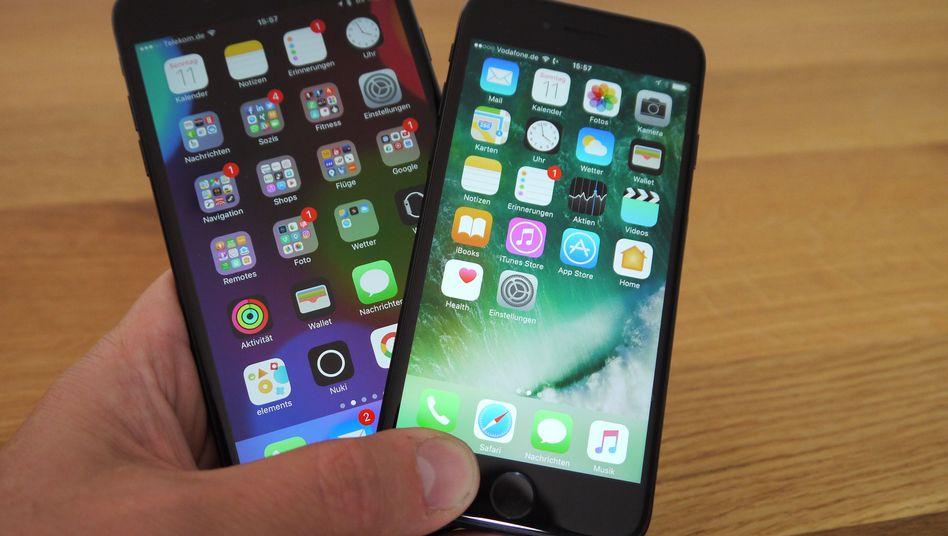 Die aktuellen iPhone 7 und iPhone 7 Plus