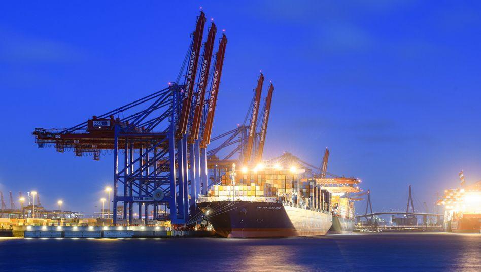 Containerhafen Hamburg: Die deutsche Wirtschaft hängt am Export