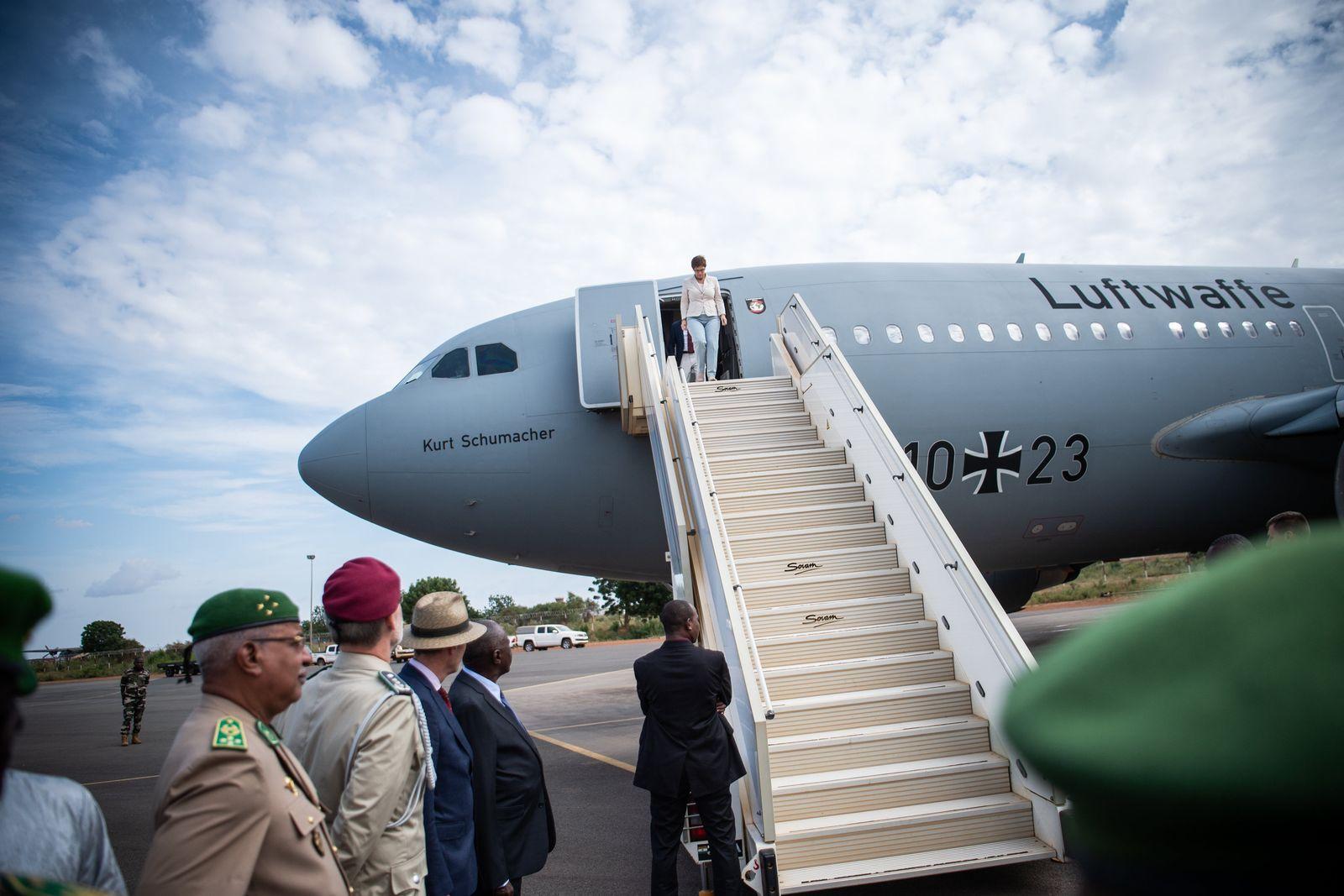 Verteidigungsministerin im Niger