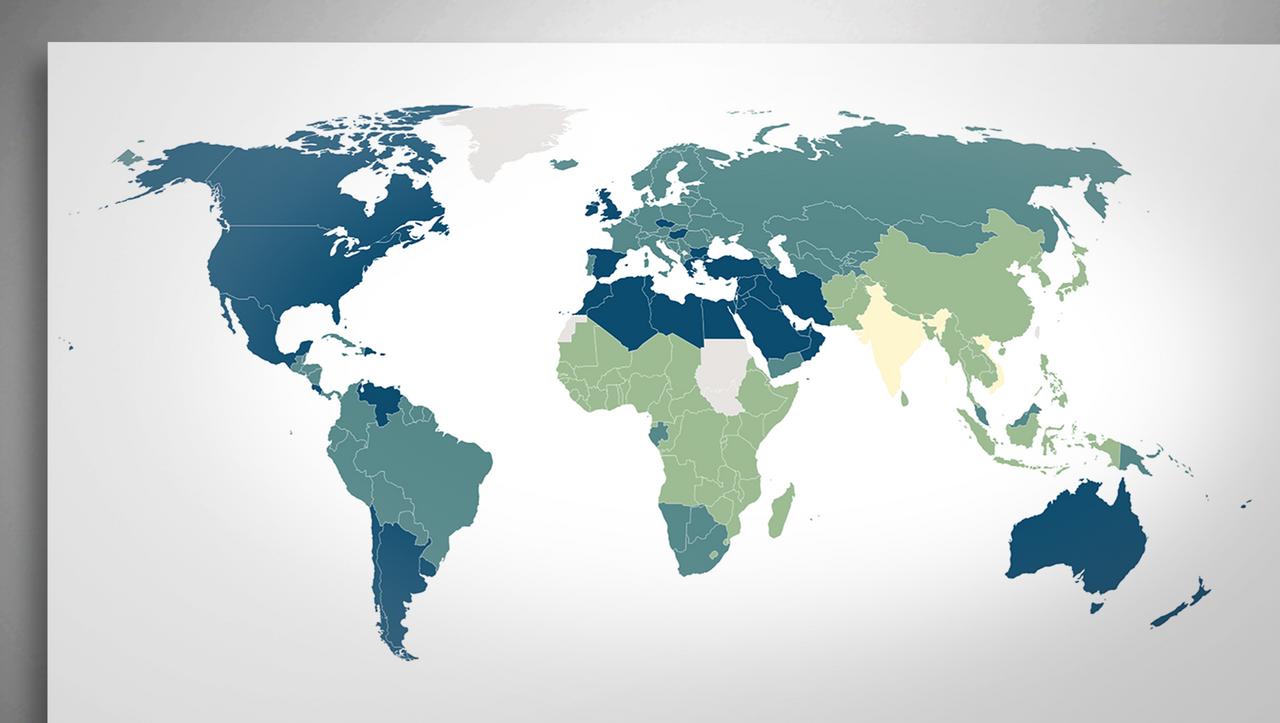Weltweite Datenanalyse: Wo 89 Prozent der Erwachsenen übergewichtig sind - DER SPIEGEL