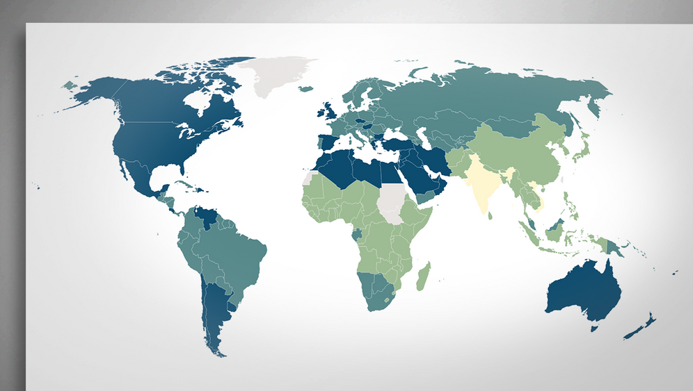 Weltweit sind mehr als 39 Prozent der Erwachsenen übergewichtig