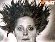 Vom ADC preisgekrönte Sixt-Werbung: Die frische Cabrio-Frisur von Angela M.