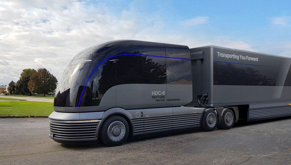 US-Lastwagenmesse: Wasserstoff für den Schwerverkehr
