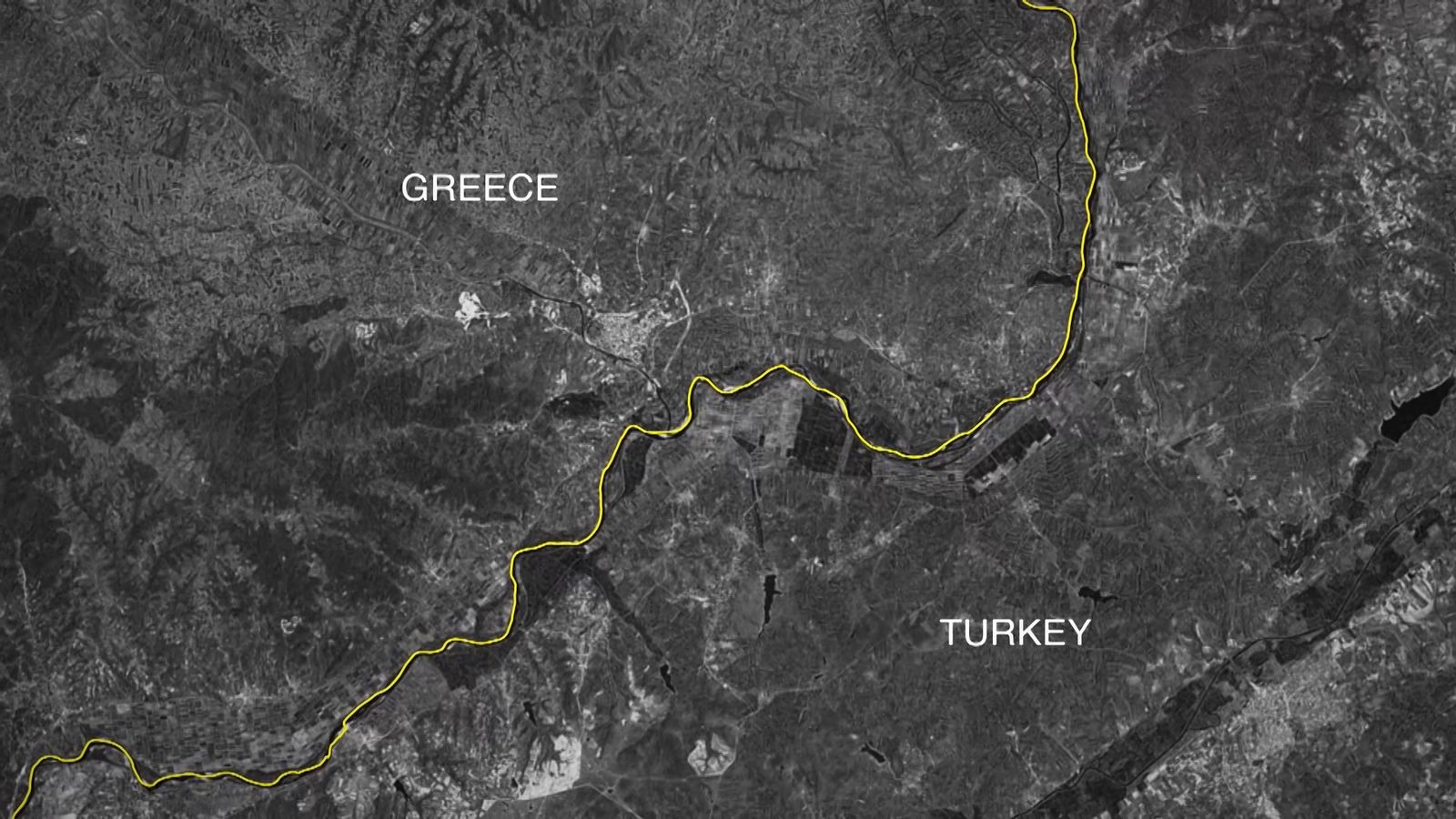 EINMALIGE VERWENDUNG SCREENSHOT/ Griechenland/ Push-Backs
