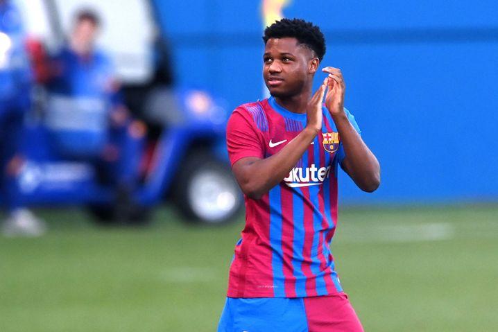 Barcelonas neue Nummer 10: Ansu Fati