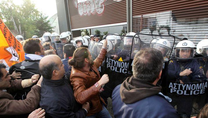 Thessaloniki: Wut auf deutsche Repräsentanten