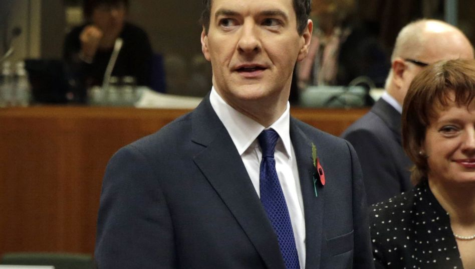 Großbritanniens Schatzkanzler George Osborne (Archiv): Als Erstes Rückzahlung von Schulden aus dem Ersten Weltkrieg geplant