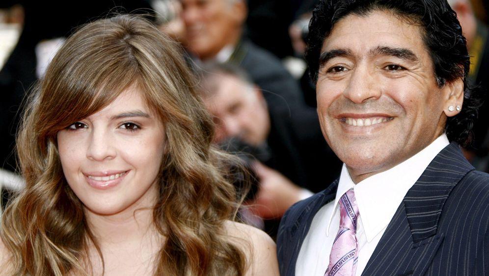 """Maradonas Tochter Dalma: """"Du bist ein Spermium Gottes"""""""