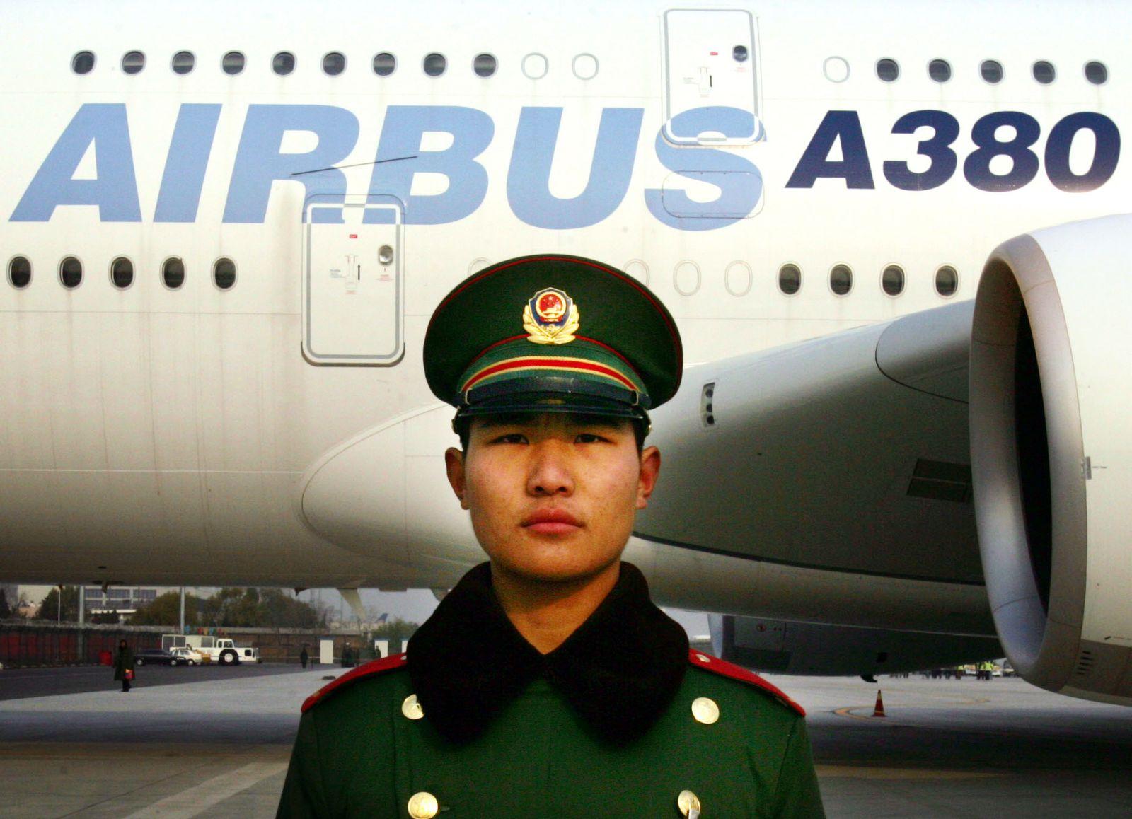 CHINA AIRBUS SUPERJUMBO