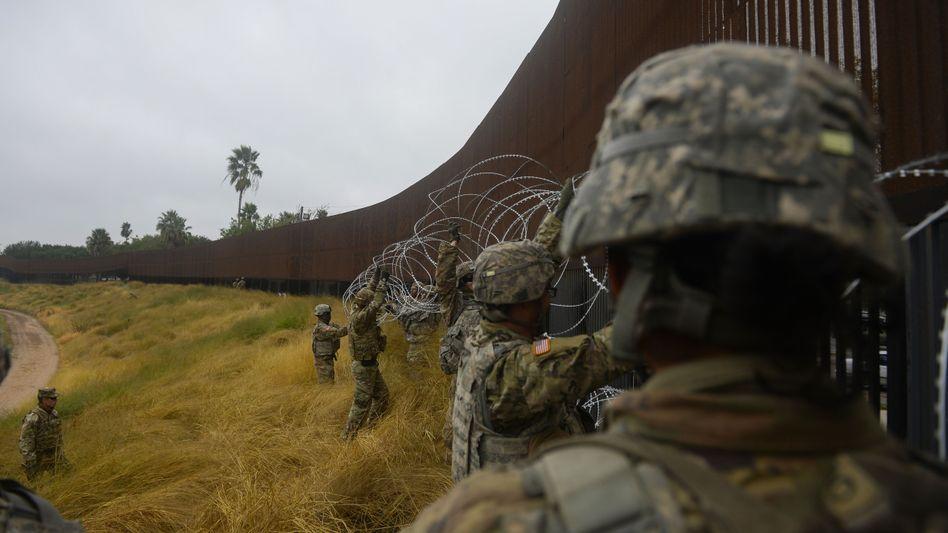 US-Soldaten im Grenzgebiet zu Mexiko