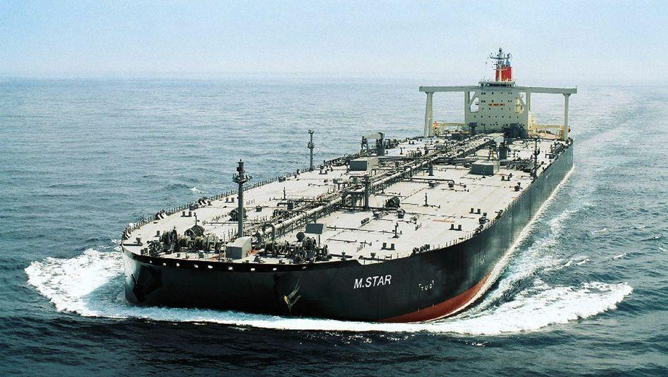 Warten auf Preissprung: Händler bunkern Erdöl in Supertankern auf See