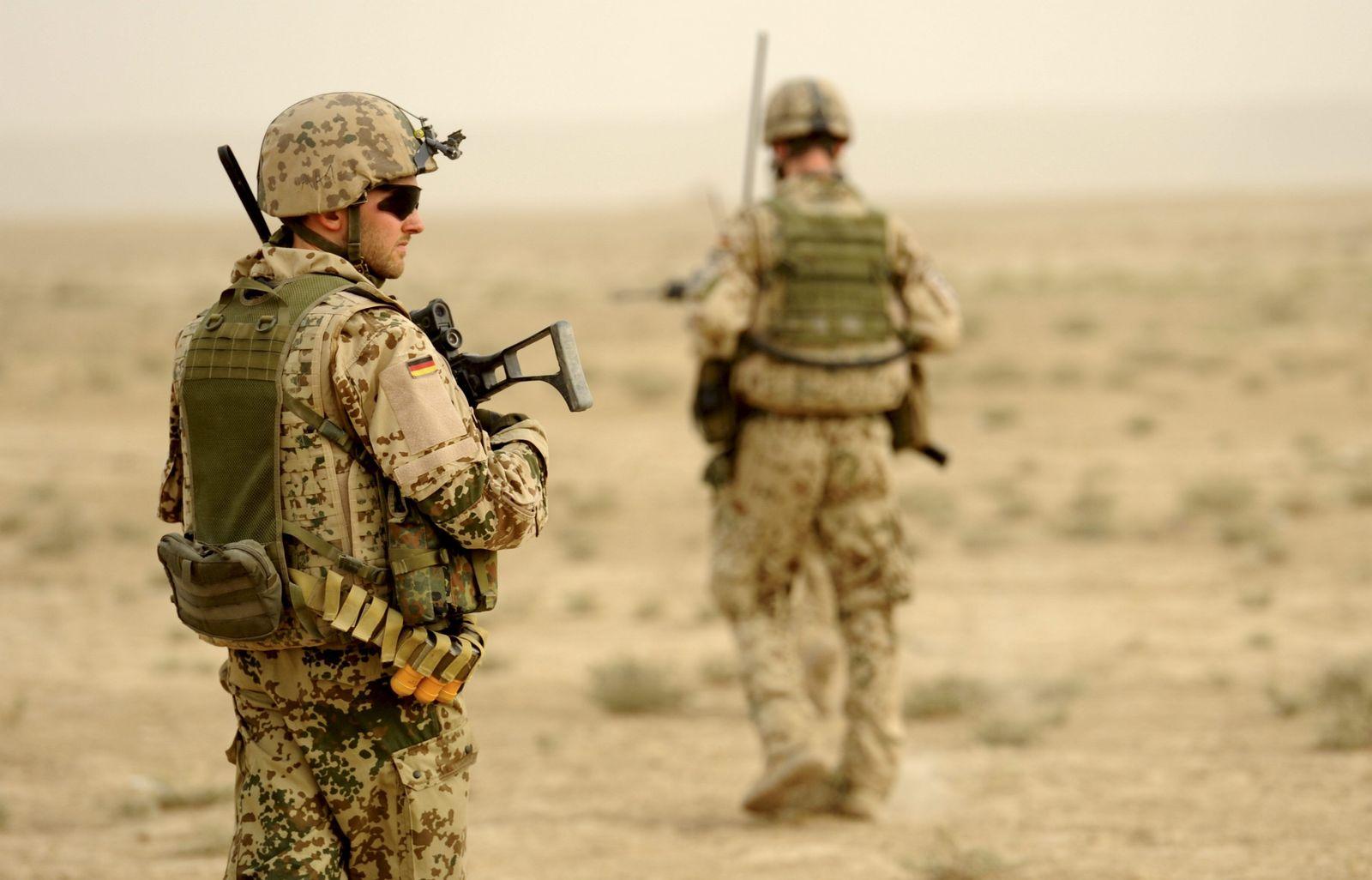 Deutsche Soldaten in Afghanistan