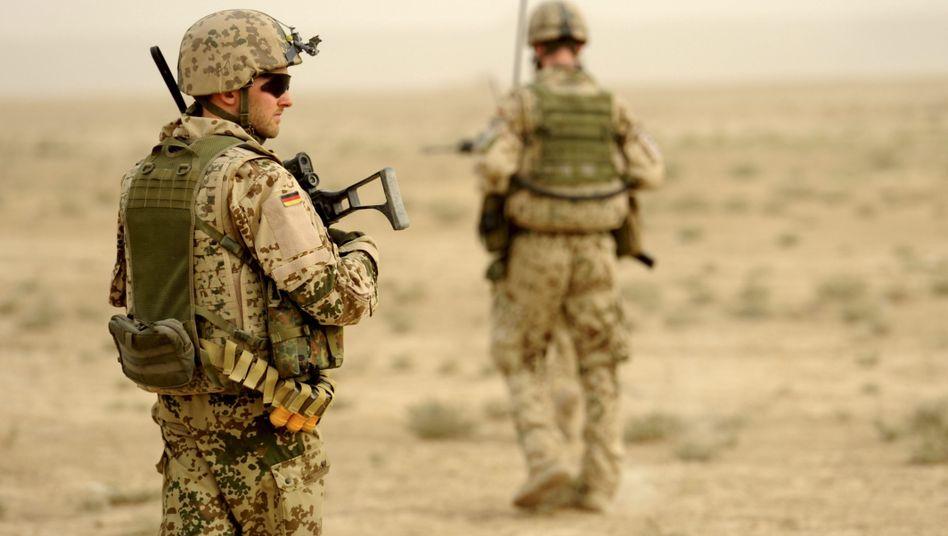 Bundeswehrsoldaten in Afghanistan: Entschädigungszahlungen sollen erhöht werden