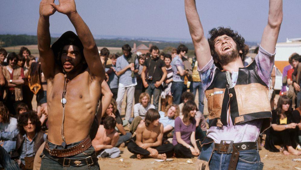Hippies und Rockstars - das Festival auf der Isle of Wight