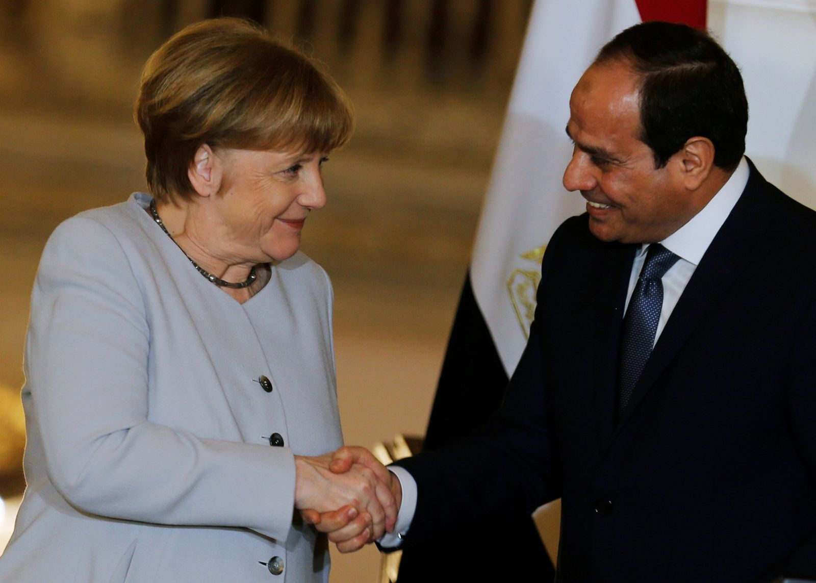 EGYPT-GERMANY/MERKEL