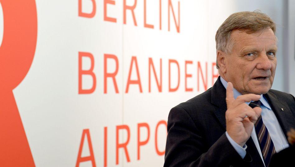 Flughafenchef Mehdorn: Kein Sinn für Detailversessenheit