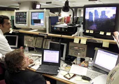 Videoüberwachung in Downtown Los Angeles