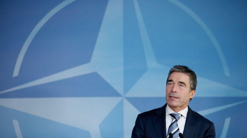 Nato-Generalsekretär Anders Fogh Rasmussen: Zumindest beim Abzugsdatum im Zeitplan