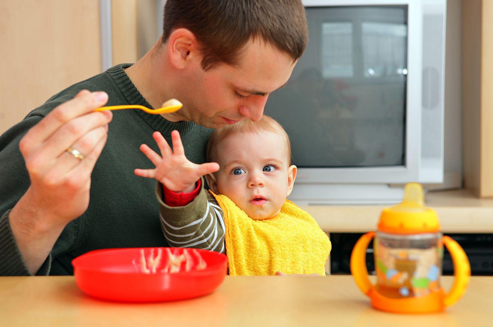 Bayerische Väter beim Elterngeld auf Platz zwei