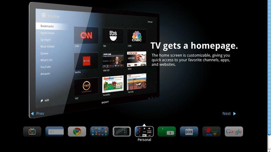 """Google TV: """"Das Fernsehen bekommt eine Homepage"""""""