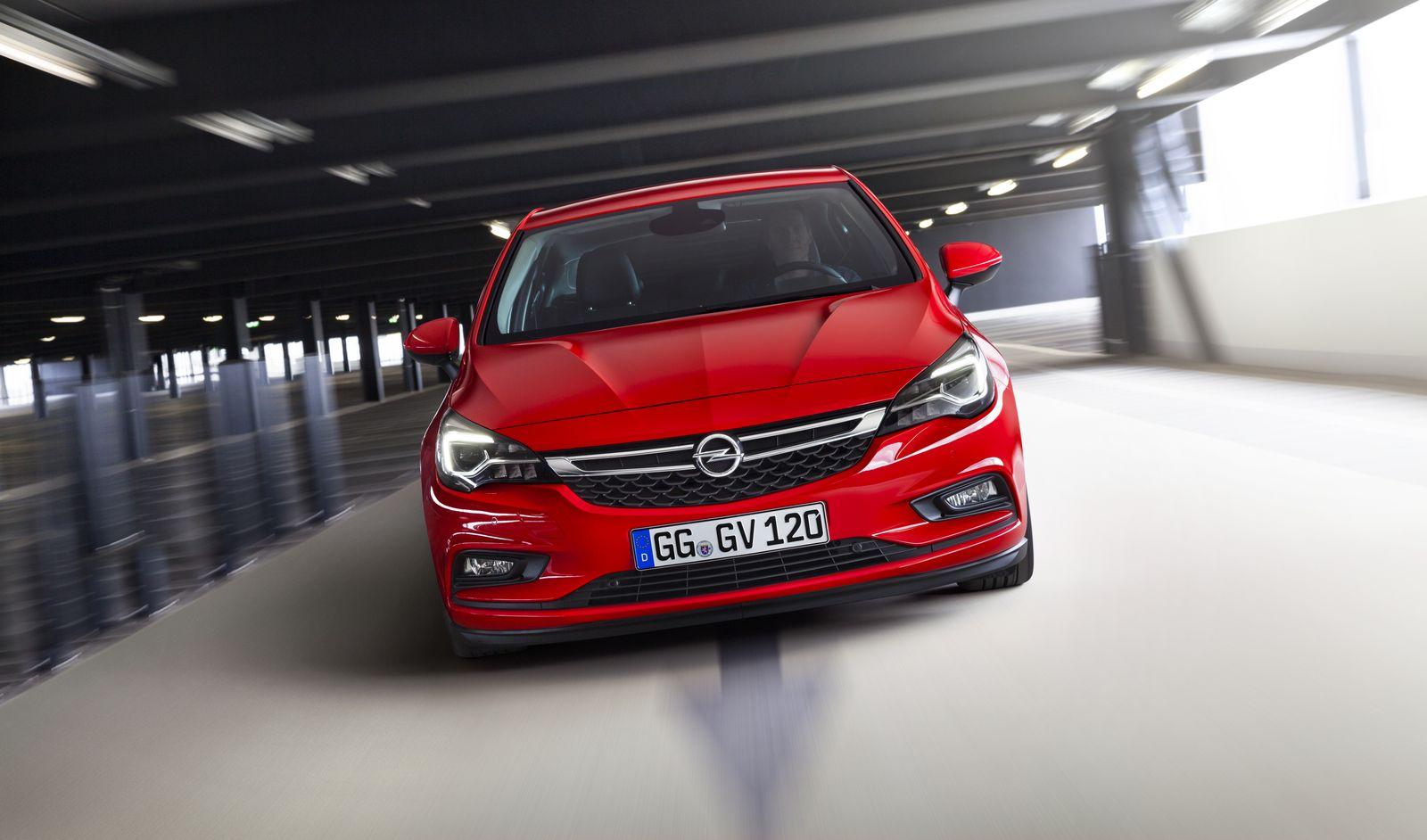 2017 / Opel Astra mit Erdgasantrieb