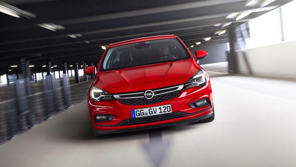 Die aktuelle Baureihe des Opel Astra
