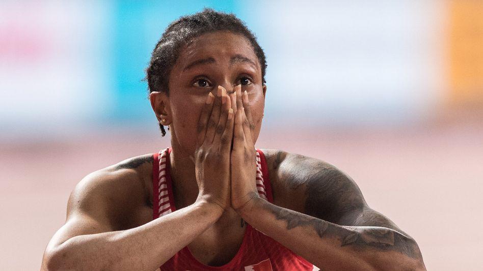 Keine 400-Meter-Weltmeisterin war jünger als Salwa Eid Naser