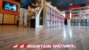 US-Einzelhandel macht rund 16 Prozent weniger Umsatz