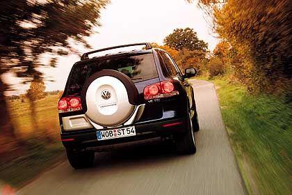Der VW-Touareg: Steuerlich kann das Fahrzeug deutlich teurer werden