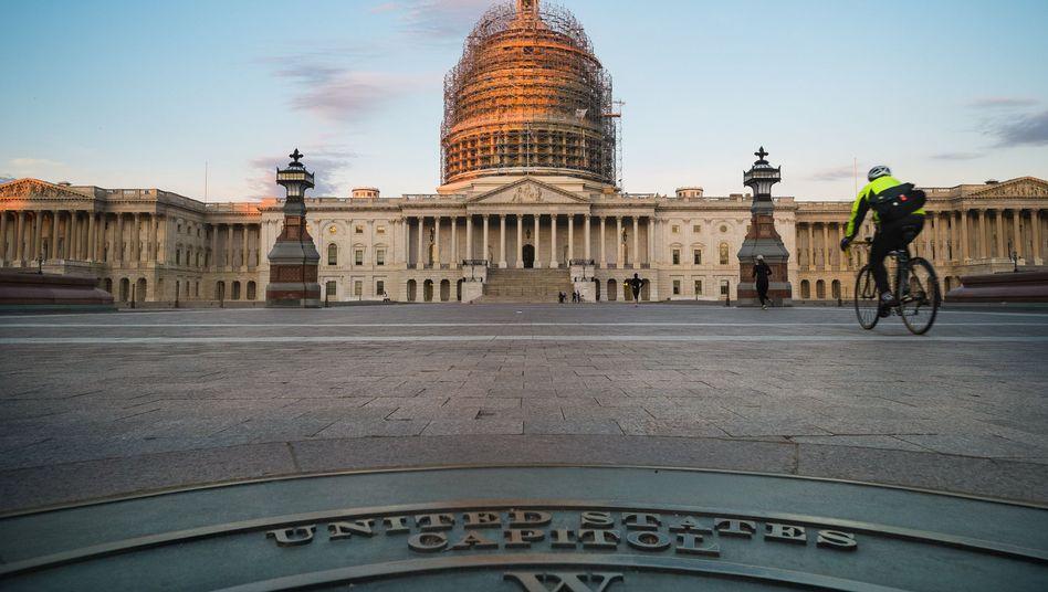 US-Kapitol: Das gesamte Repräsentantenhaus und ein Drittel des Senats stehen zur Wahl