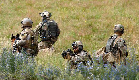 Soldaten des KSK bei einer Übung