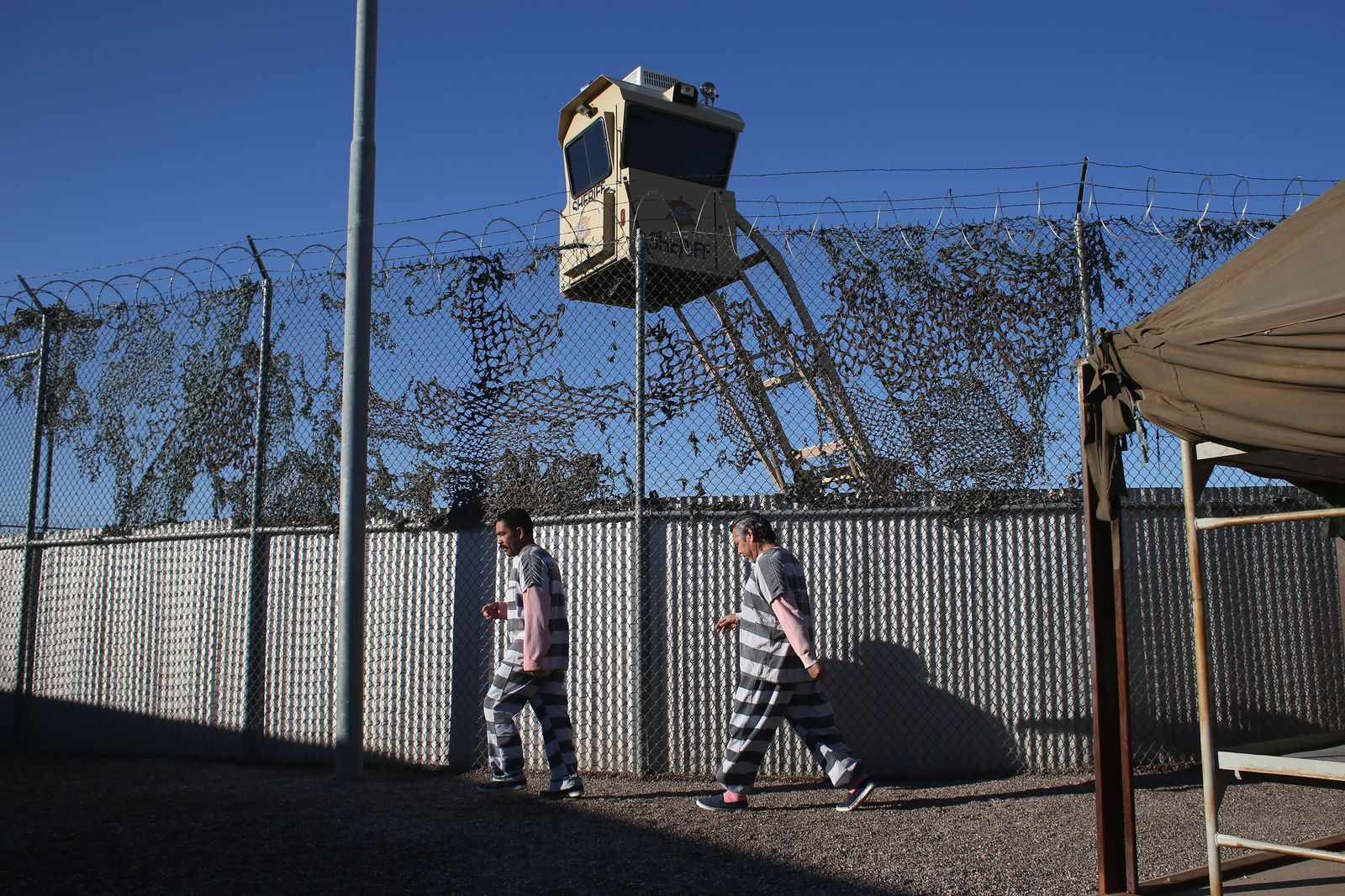 Maricopa County Tent City Jail Houses Undocumented Immigrants Convicted of Crimes