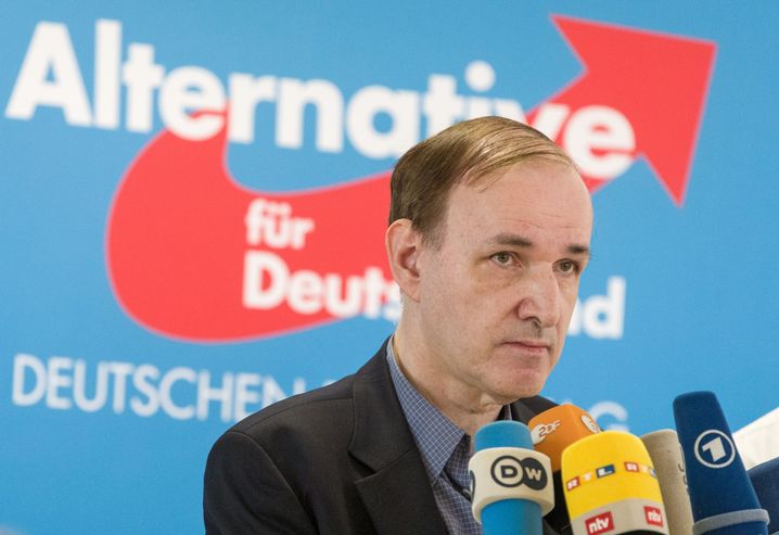 Will an die Spitze der Partei: AfD-Abgeordneter Gottfried Curio