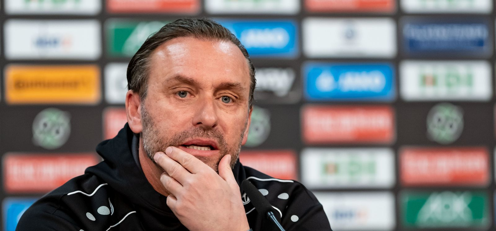 Hannover 96 - Trainer Thomas Doll