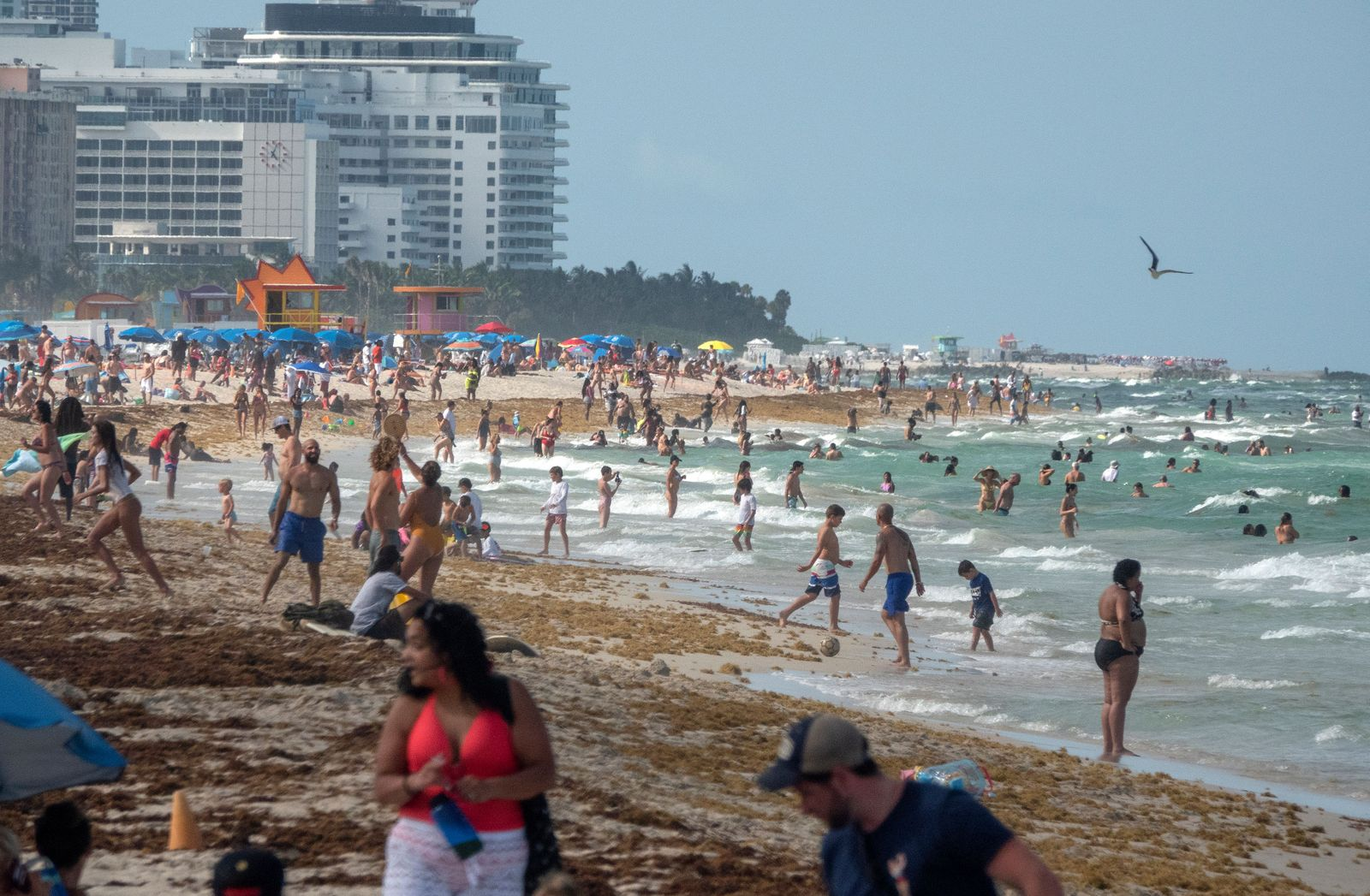 Coronavirus in Miami, Miami Beach, USA - 26 Jun 2020