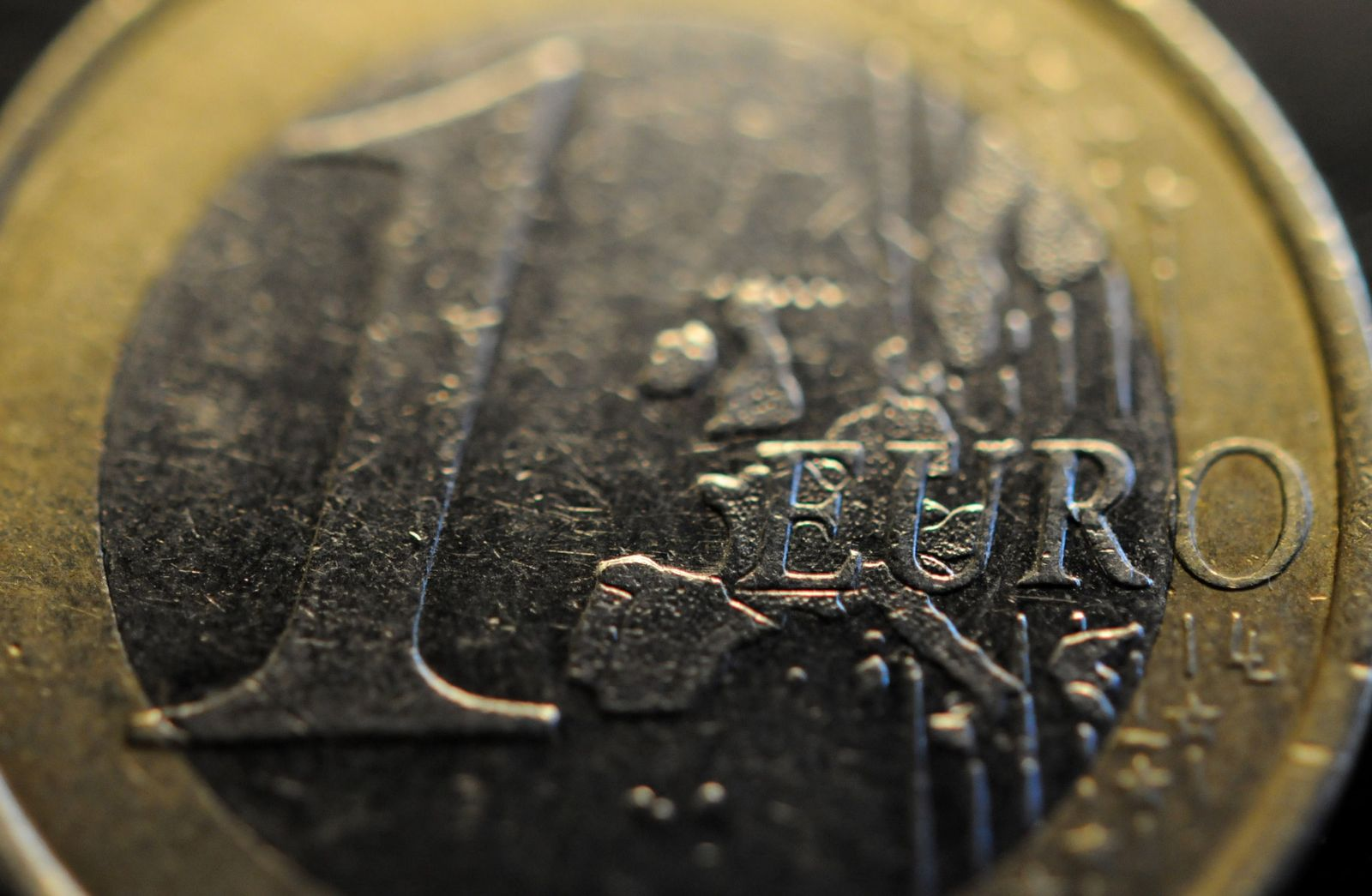NICHT VERWENDEN Euro-Münze