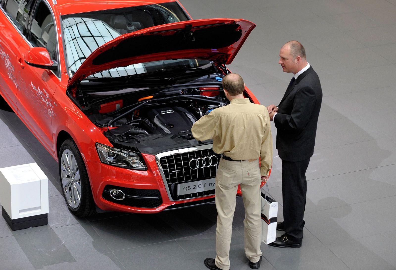 NICHT VERWENDEN Autokauf / Audi