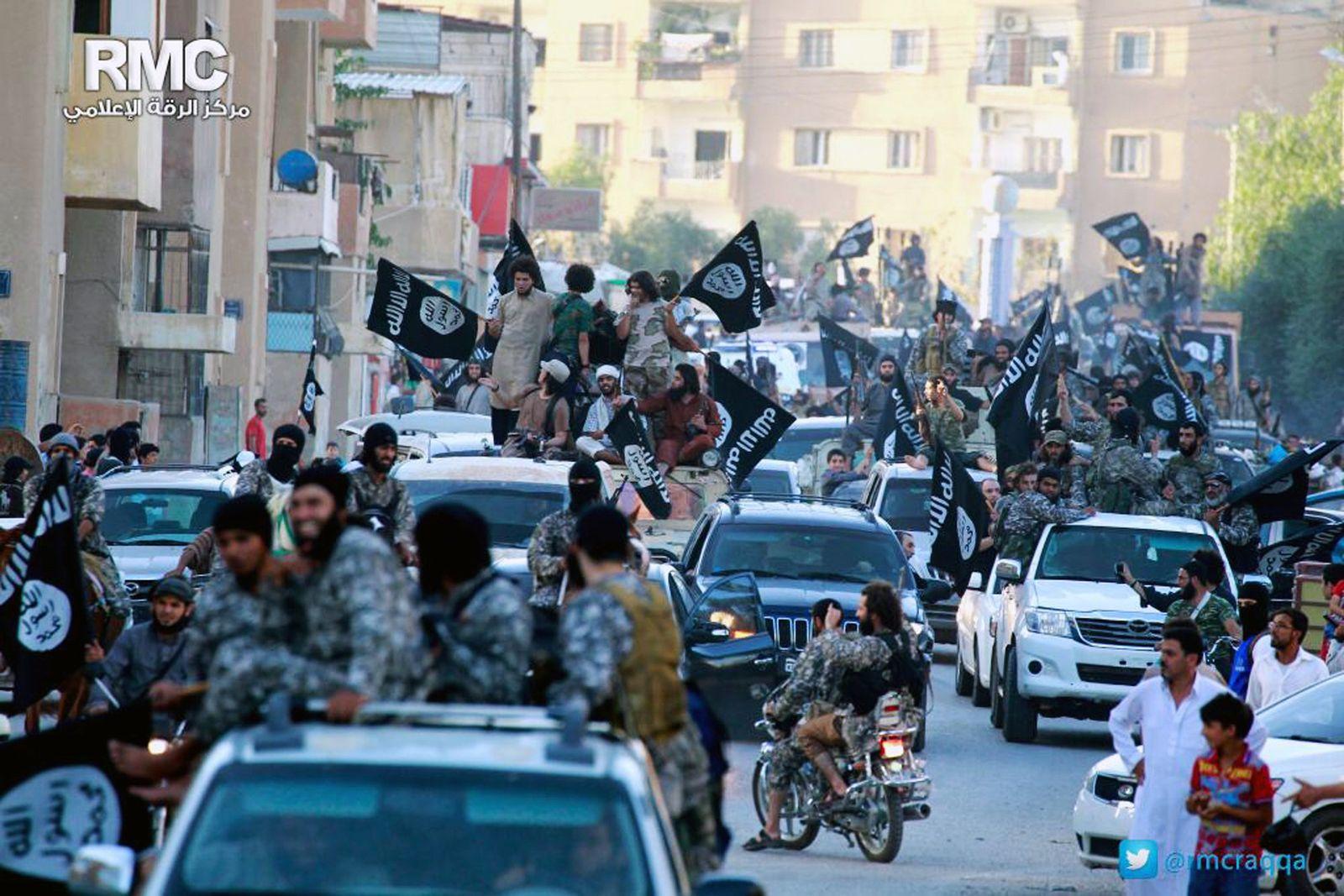 Mideast Syria Iraq IS Rakka