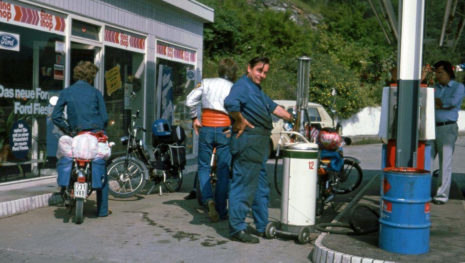 Tankstelle 1977