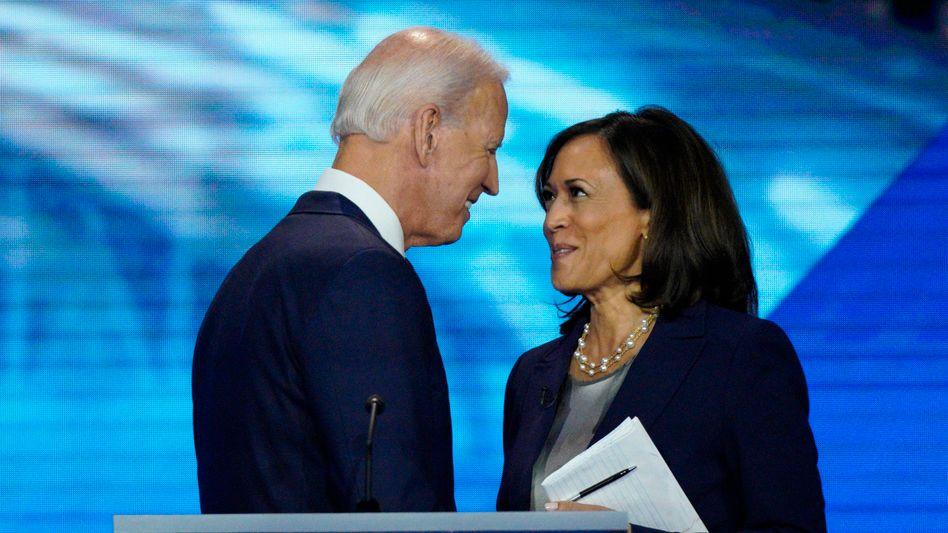 Joe Biden und Kamala Harris (im September 2019): Dass sie Wähler begeistern kann, hat sie noch nicht bewiesen