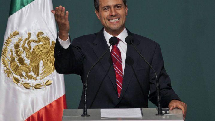 Mexikos künftiger Präsident Nieto: Beau mit Jugendcharme
