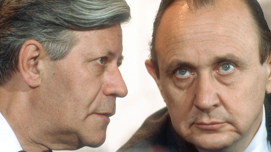 Koalitionäre Schmidt, Genscher (1977): Hilfe für den angeschlagenen Kanzler