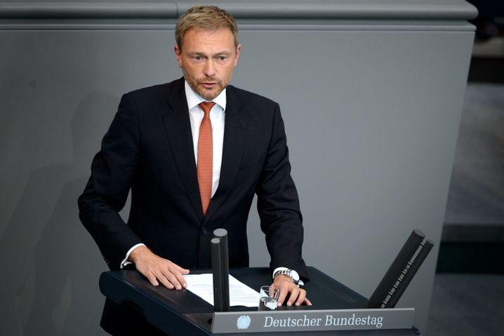 """FDP-Chef Christian Lindner nennt das Vorgehen eine """"Geschmacklosigkeit"""""""