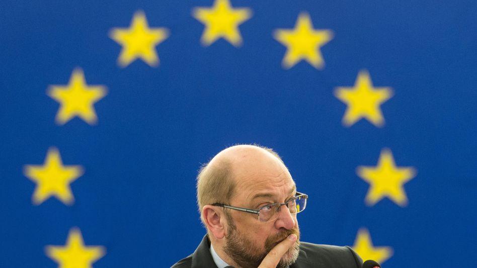 """EU-Parlamentspräsident Schulz: Ärger um """"Taxe""""-Sonderausschuss"""
