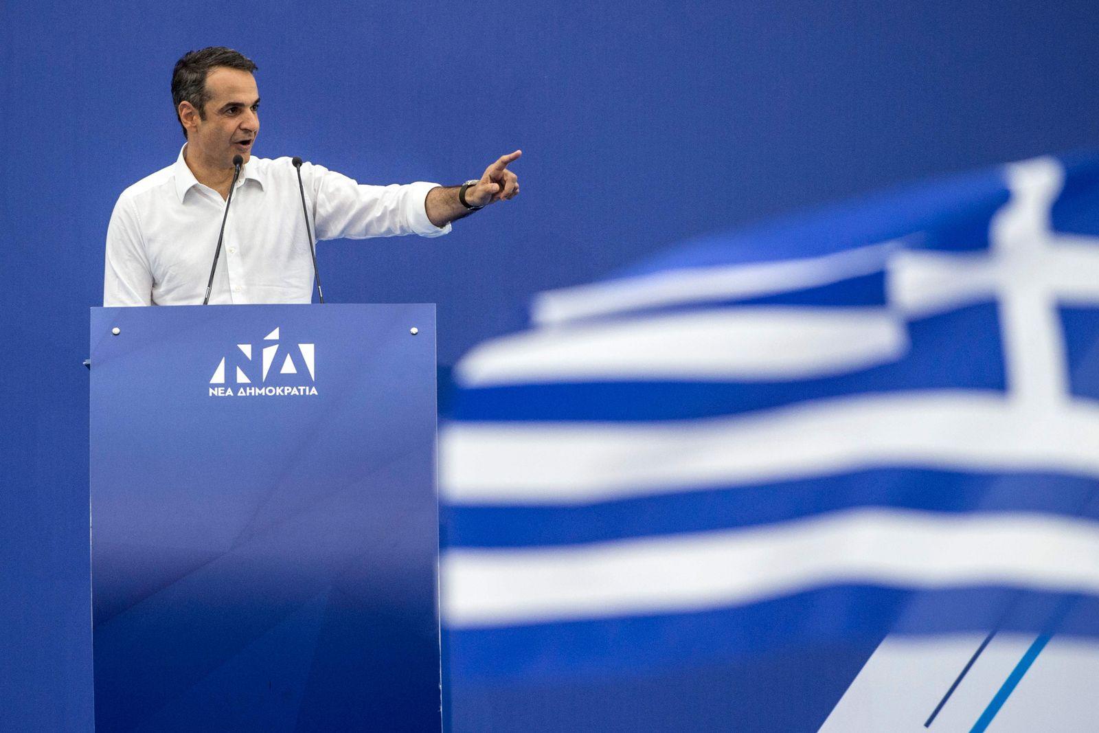 Kyriakos Mitsotakis/Griechenland
