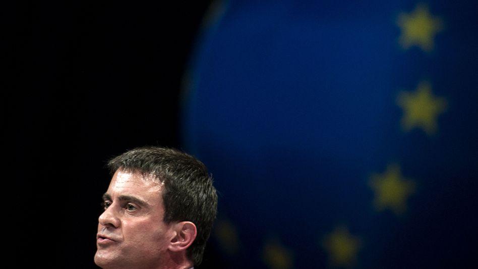 Manuel Valls im Europa-Wahlkampf: Nicht im Engagement nachlassen