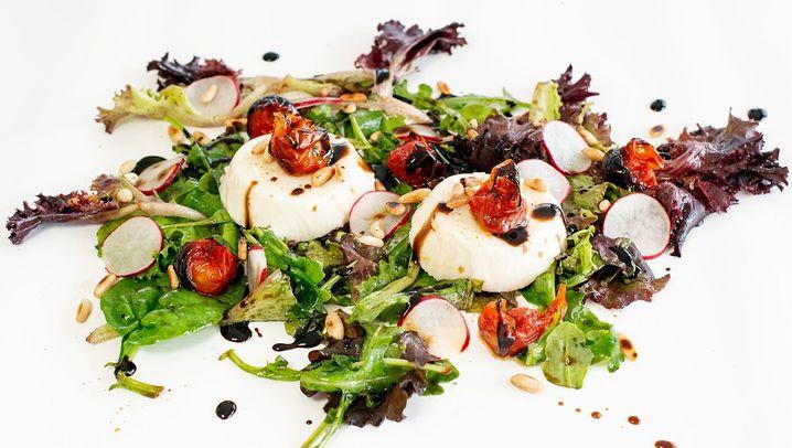 Rezept für Tomaten-Pannacotta: Italo-Pudding