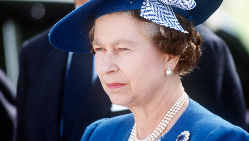 Queen Elizabeth II in 1988