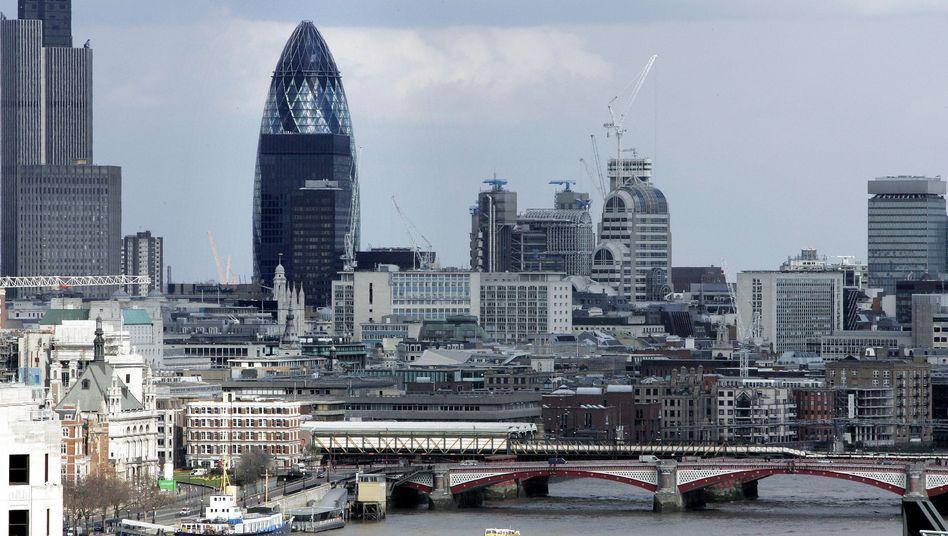 """Londoner Büroturm """"The Gherkin"""": Wahrzeichen der Bankenmetropole"""