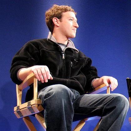 Facebook-Gründer Marc Zuckerberg (auf dem World Economic Forum in Davos): Mit 23 Jahren einer der einflussreichsten Manager des Web 2.0